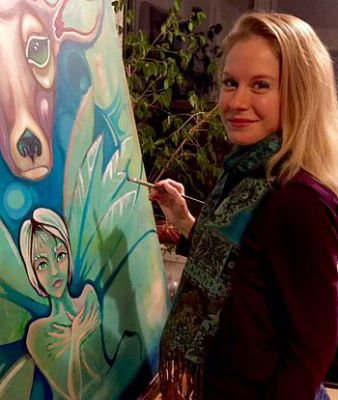 Tara Luther ~ Astrologist, Arts Counselor and Oil Painter Extraordinaire Unveils 'Spirit Portraits'