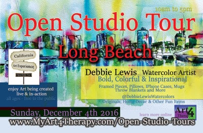 Discover Art In-Action in the California Art Experience, Open Studio Tour - Long Beach Edition