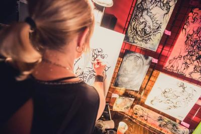 "Bama – Ink Artist – Brings True Peace to a Chaotic World with ""Doors To Perception"" tonight in Poway"